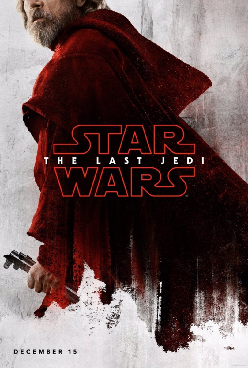 They really didn't do much with him in the film and I wish we would have seen Luke at his strongest.