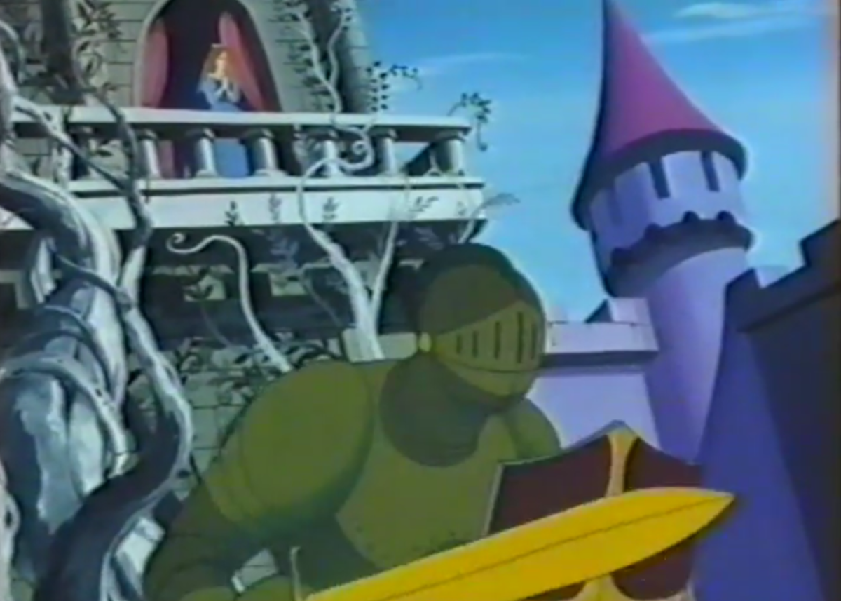 Toei's style is especially apparent during the fantasy musical sequences between John and Priscilla.