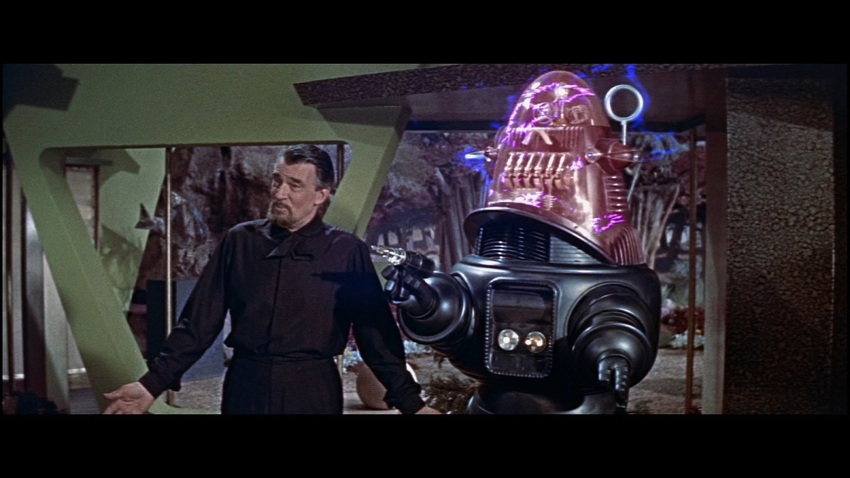 Pidgeon may have headlined the project but the true star was Robby the Robot, who would become a cult figure among sci-fi fans.