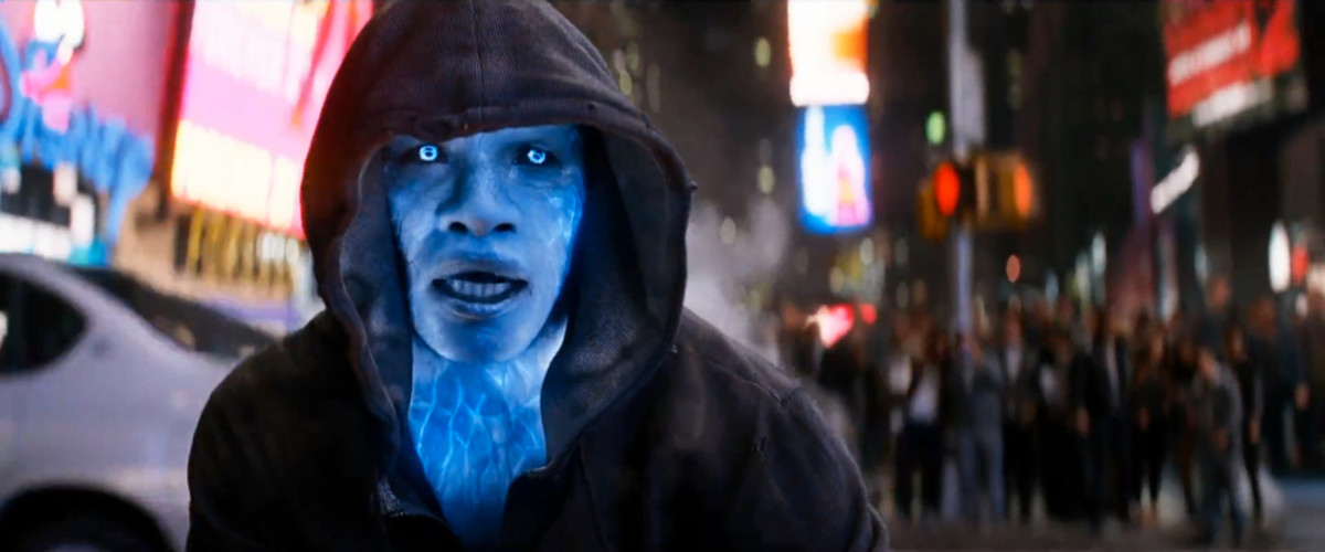Shocking - Foxx's Electro feels like an underwritten role and is totally undermined by the script.