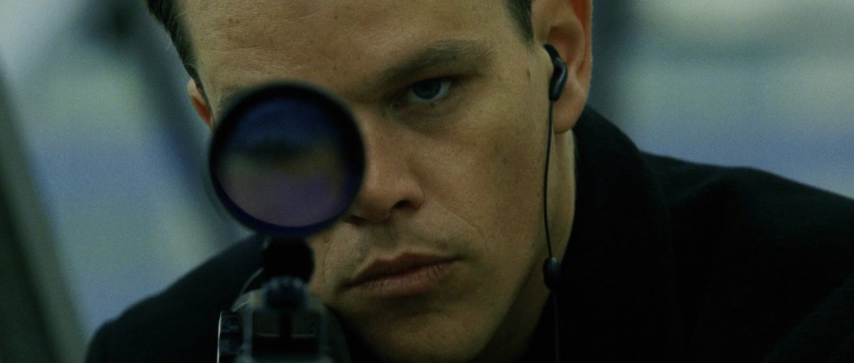 "Matt Damon takes aim at 007's aging reputation in ""The Bourne Identity"""