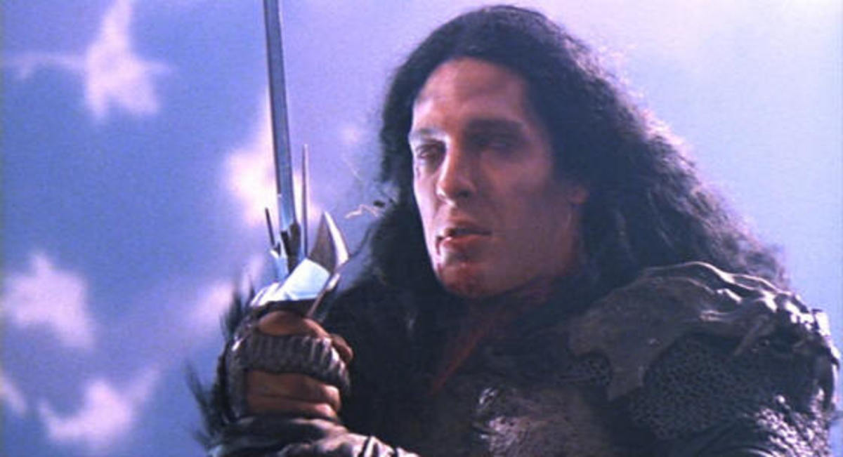 Kurgan provides Brown with his signature role as the villain of the piece, a hulking mountain of a man that physically dwarves Lambert's MacLeod.