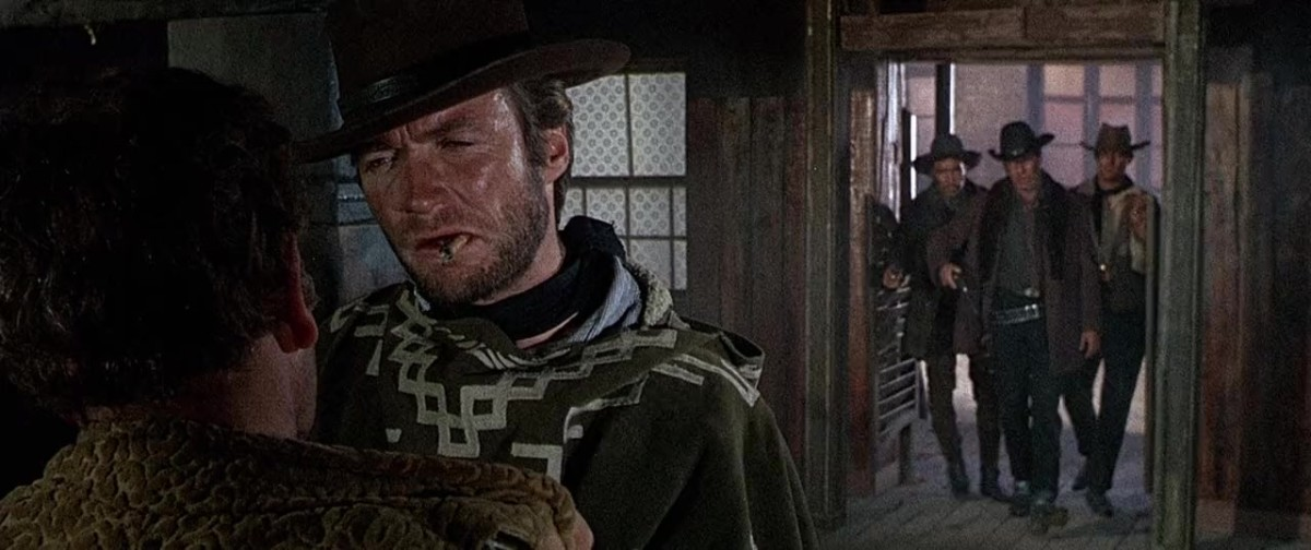 Eastwood's tough hombre returns with a grizzled perfection as the sharp-shooting bounty hunter treading on too many toes...