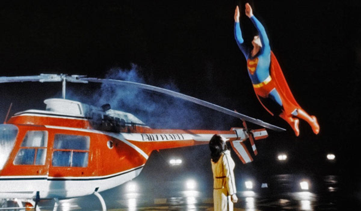 Despite the crude effects (compared to today), the film manages to convince you that Reeve can fly and save the day. It's a triumph.