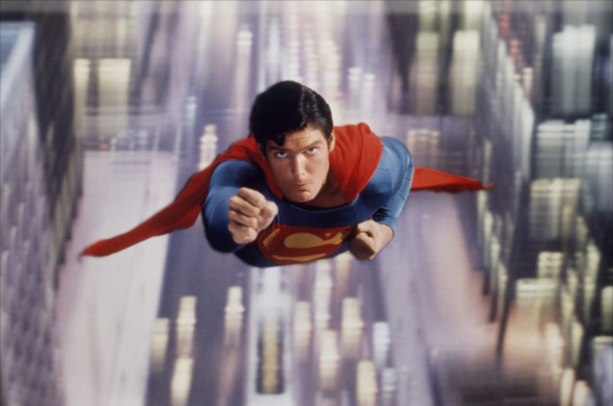 Reeve makes the role of Superman & Clark Kent his own, effortlessly switching between the two and making you believe.
