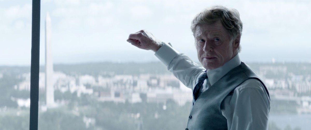 Alexander Pierce played by Robert Redford