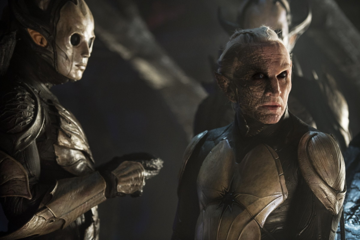 Malekith played by Christopher Eccleston