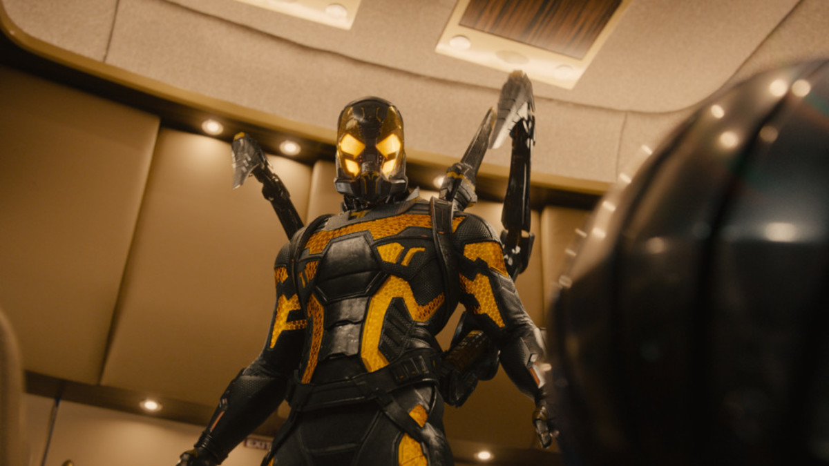 The Yellowjacket suit