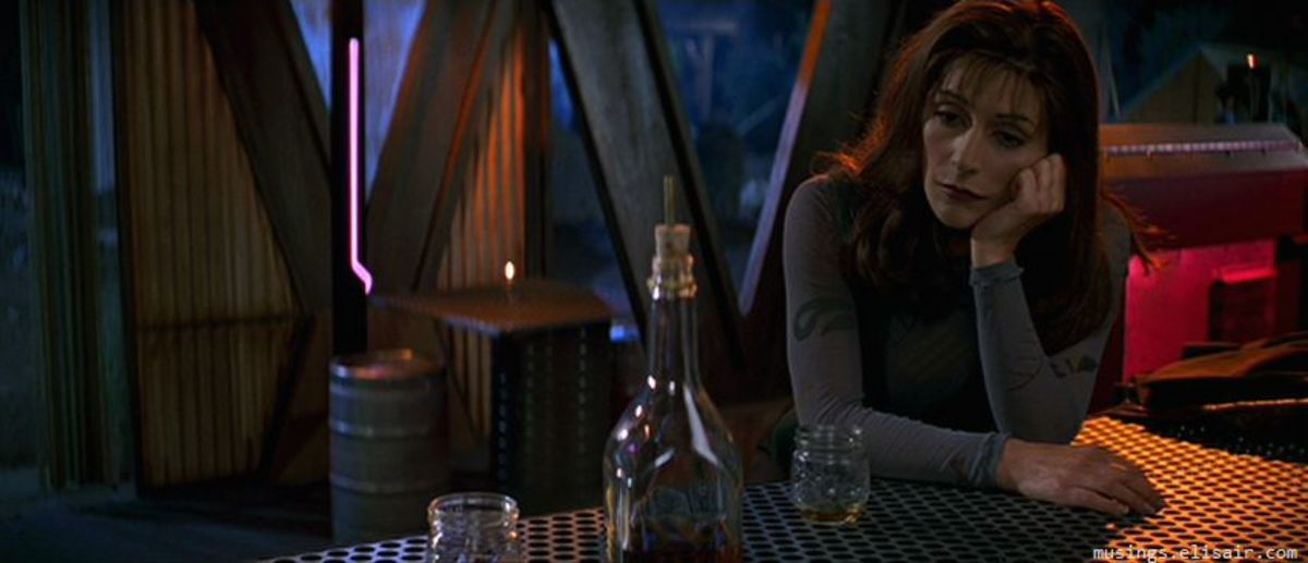 While some characters are given time to shine on the big screen, others like Troi are sidelined almost entirely.