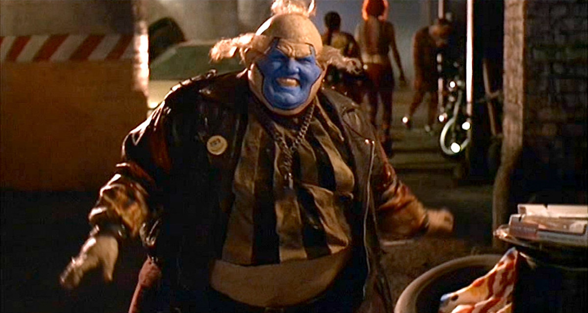 The film's extensive use of makeup and prosthetics is impressive, making Leguizamo unrecognisable as Violator.