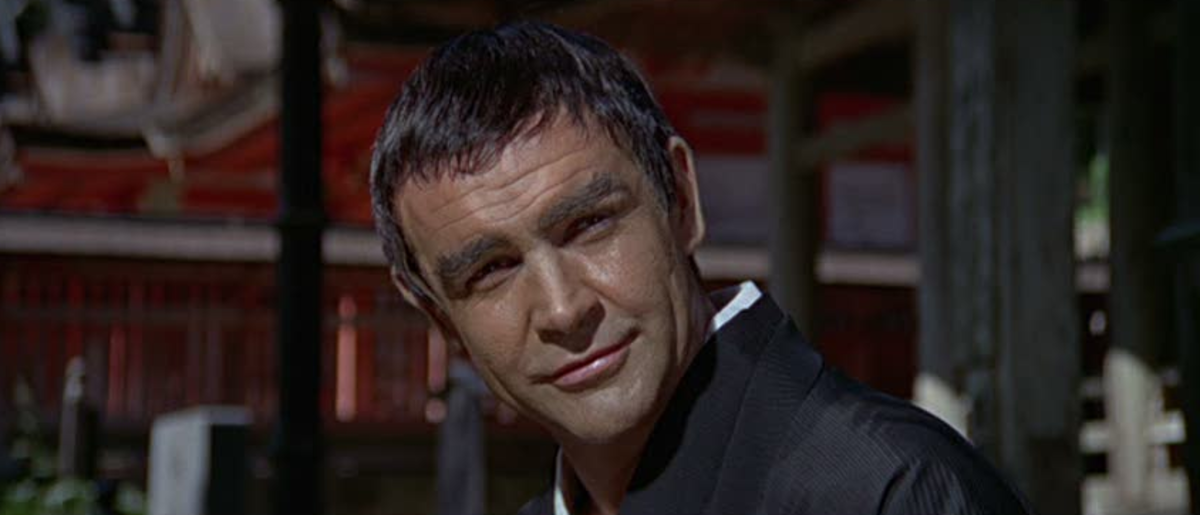 Connery's laid-back performance highlights his disillusion with being 007 and he would be temporarily replaced for the next film.