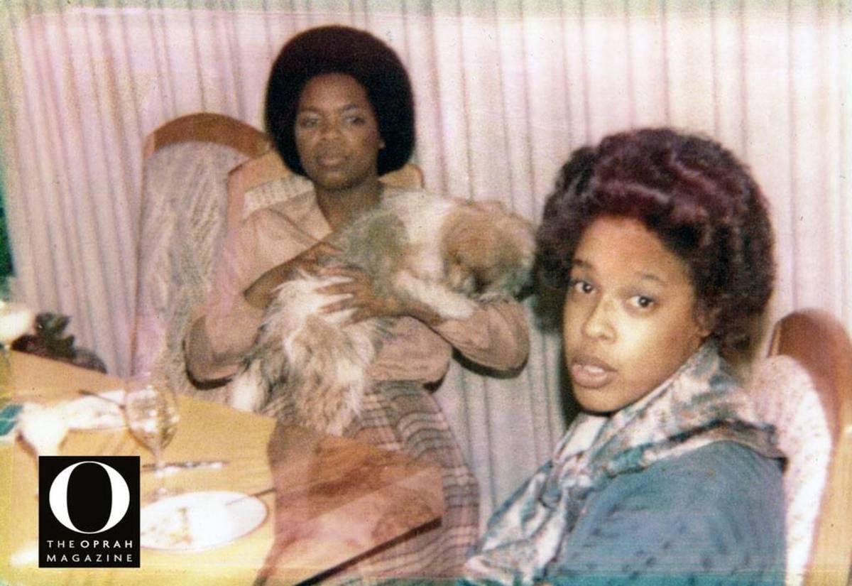 Oprah Winfrey and Gayle King Throwback Photo (1976)