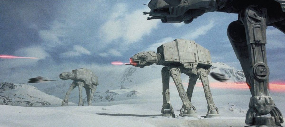The film's opening on Hoth is one of the best action sequences in the entire saga...