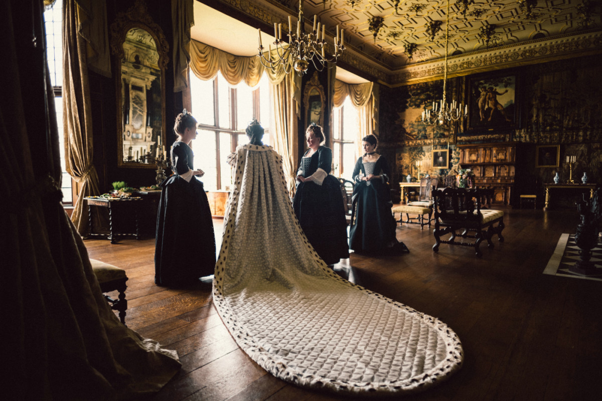 The film's exquisite use of costumes, set locations and props looks far more lavish than the tight budget might suggest.