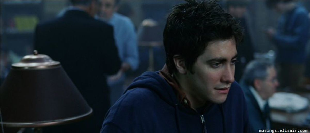 A baby-faced Gyllenhaal does his best with the script but ultimately proves to be the film's action hero.