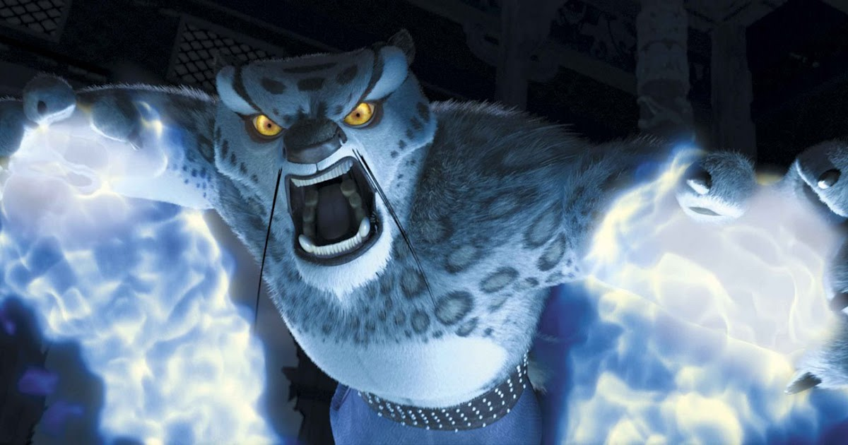 McShane's villanous Tai Lung is actually a very good baddie, bristling with arrogance and misplaced authority.