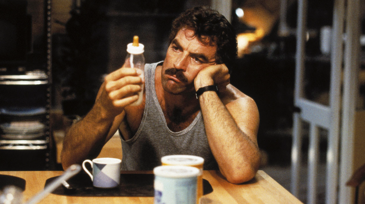Selleck's performance underlines his comic timing and chemistry with his co-stars.