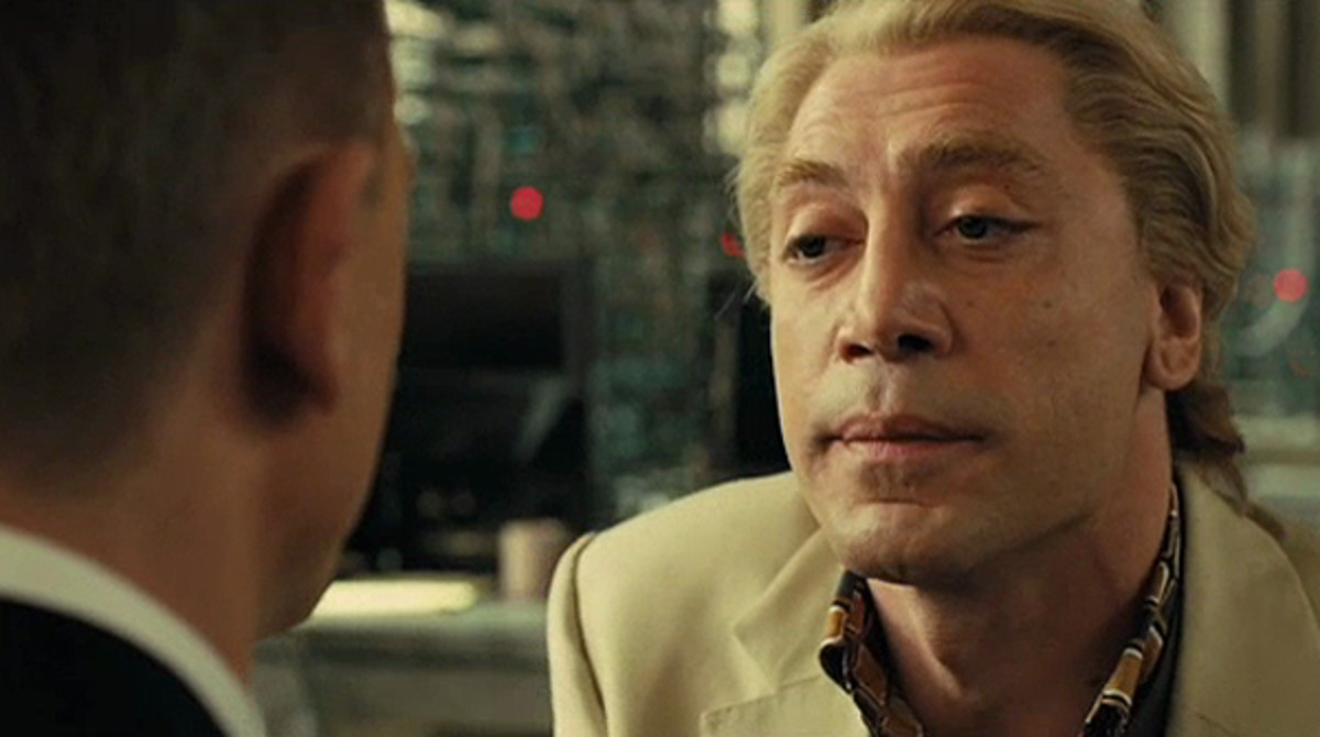 Bardem's Silva goes straight into Bond's Hall of Fame for villains...