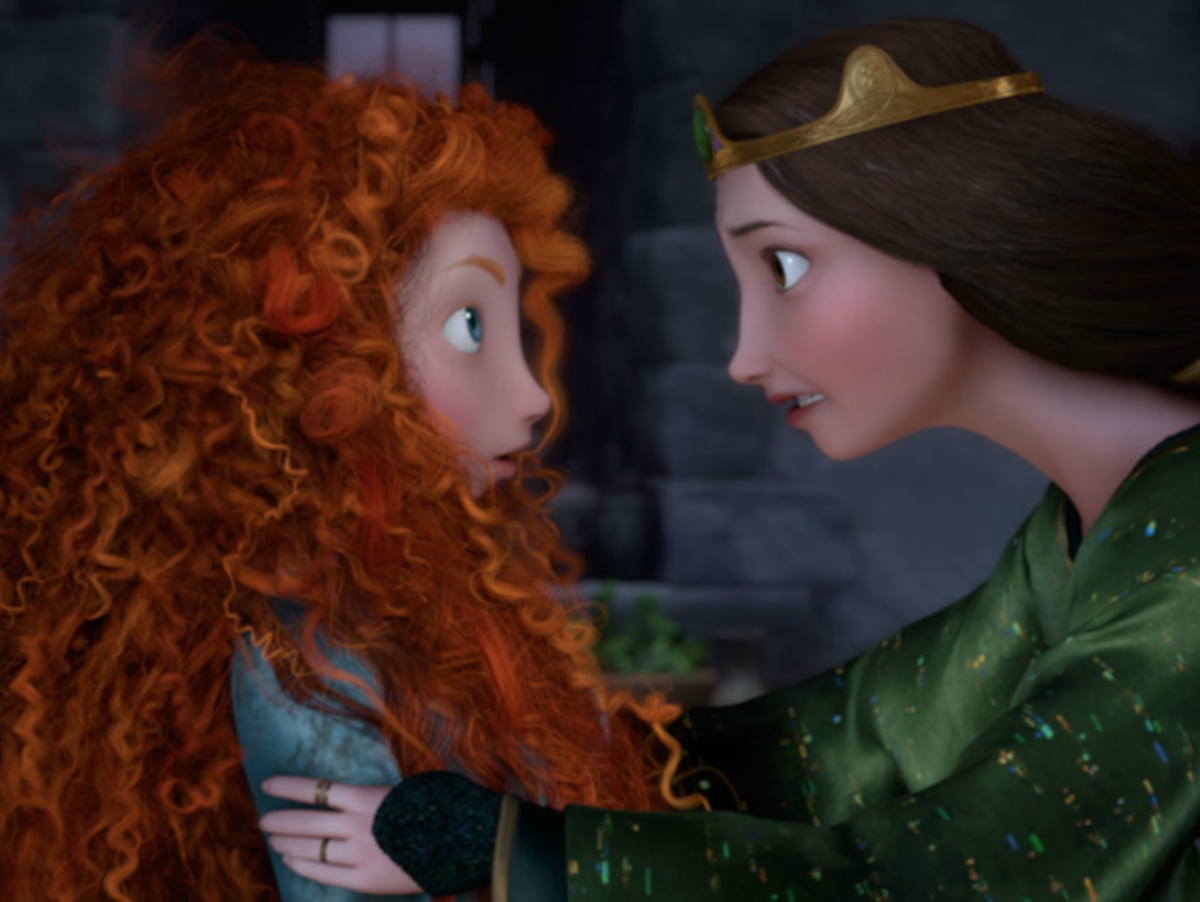 The film exhibits an unparalleled level of detail in its animation - Merida's red hair alone is stunning to watch.
