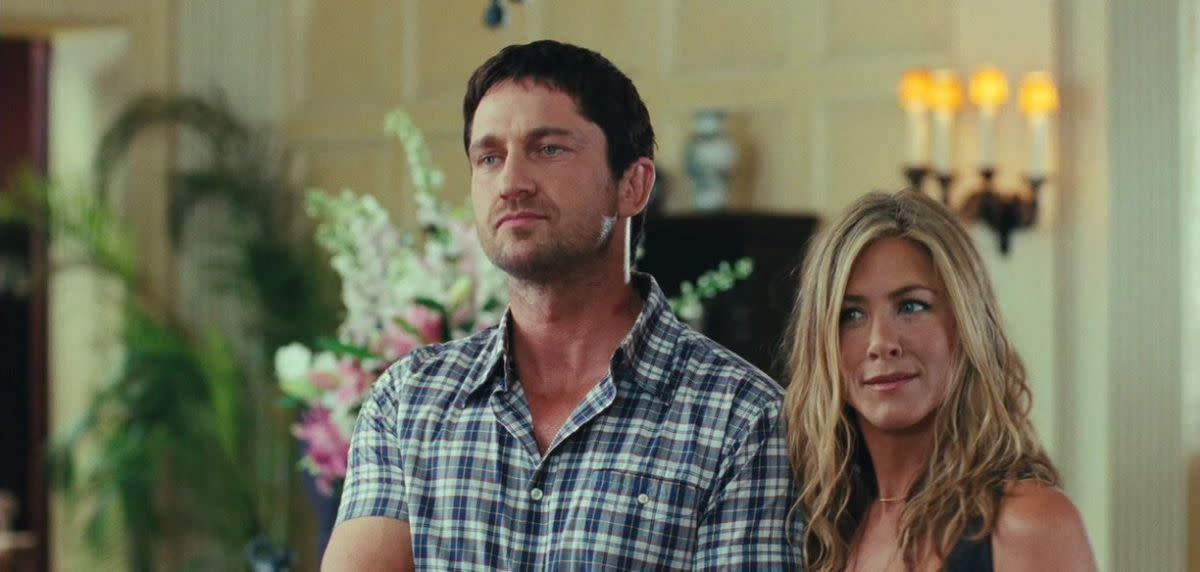 I wouldn't be that surprised if both Butler and Aniston had forgotten the film as well.