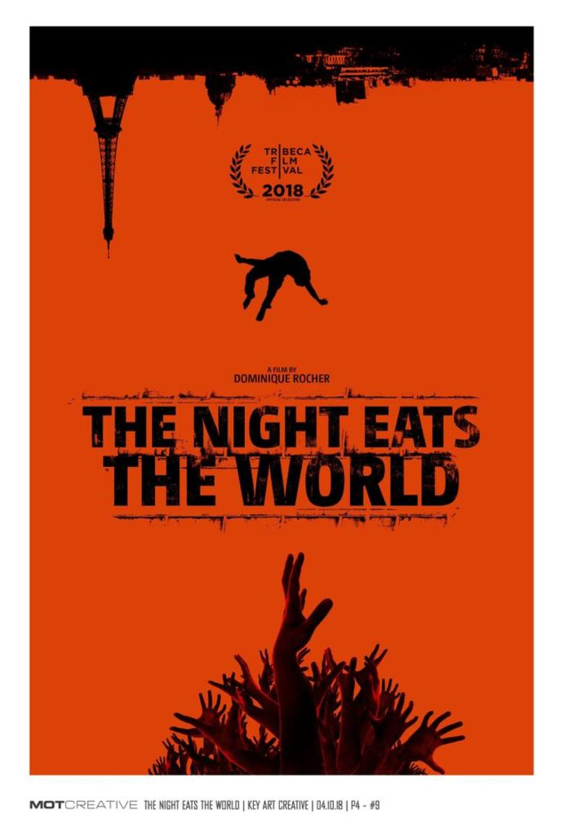 """The Night Eats the World"" Movie Poster (United States)"