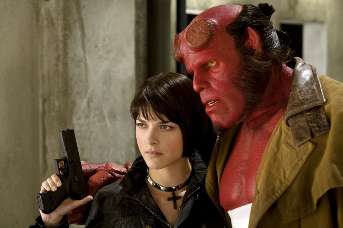 The relationship between Liz and Hellboy is an intriguing one, although it fails to provide any sense of reality to the picture.