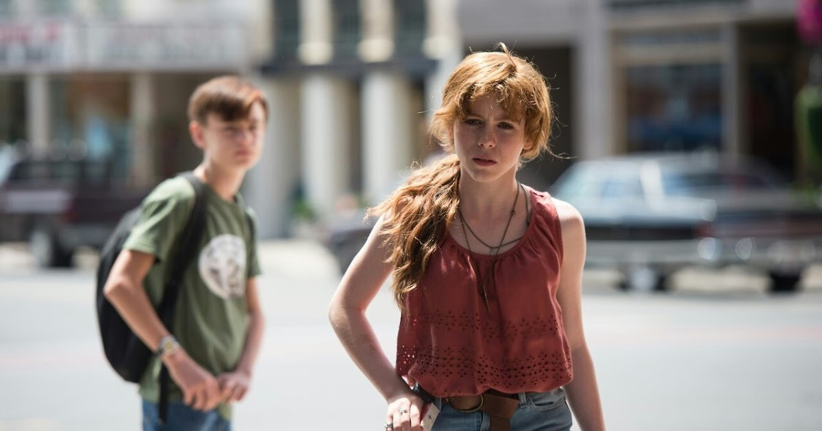 Traditionally, child actors put me off but the film is powered by genuine and powerful performances, led by Lieberher (left) and Lillis (right).