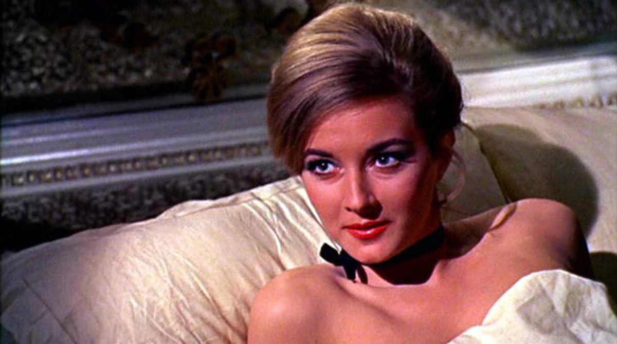 Daniela Bianchi as Bond girl Tatiana Romanova