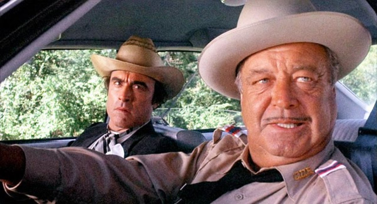 The film belongs to Gleeson (right) as the wonderfully rednecked Buford T Justice.