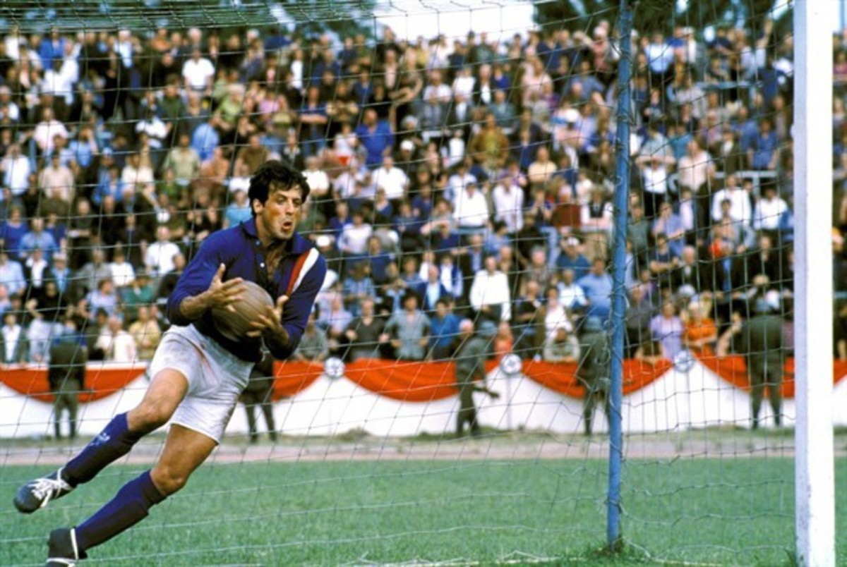 Stallone's ego threatened to run riot and nearly derailed the film altogether. No wonder they stuck him in goal!
