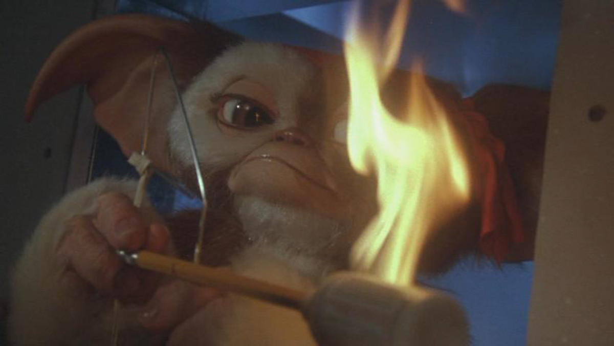 Gizmo decides enough is enough, proving all that time he spent watching TV wasn't wasted...