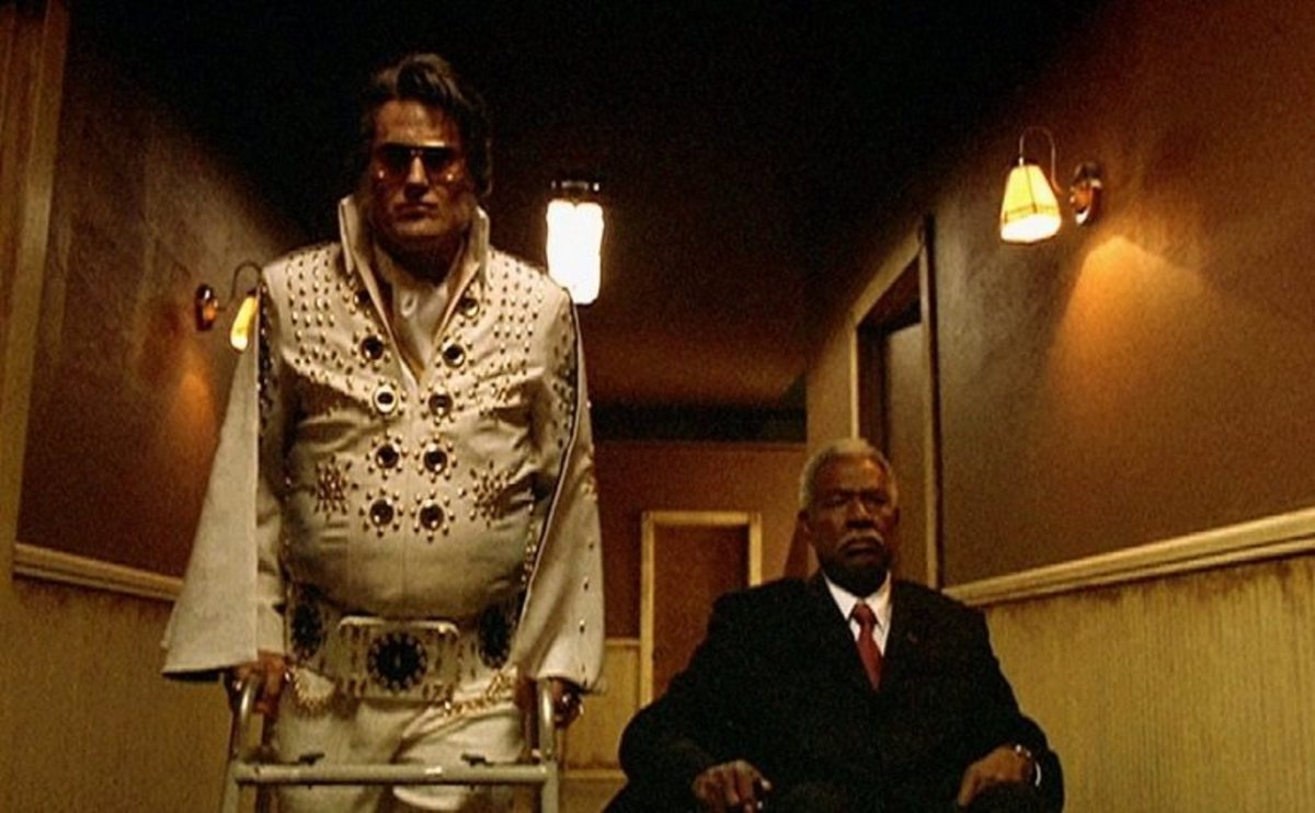The film belongs to Campbell (left) as one of the best Elvis roles seen in cinema, as odd as that may seem in a film like this.