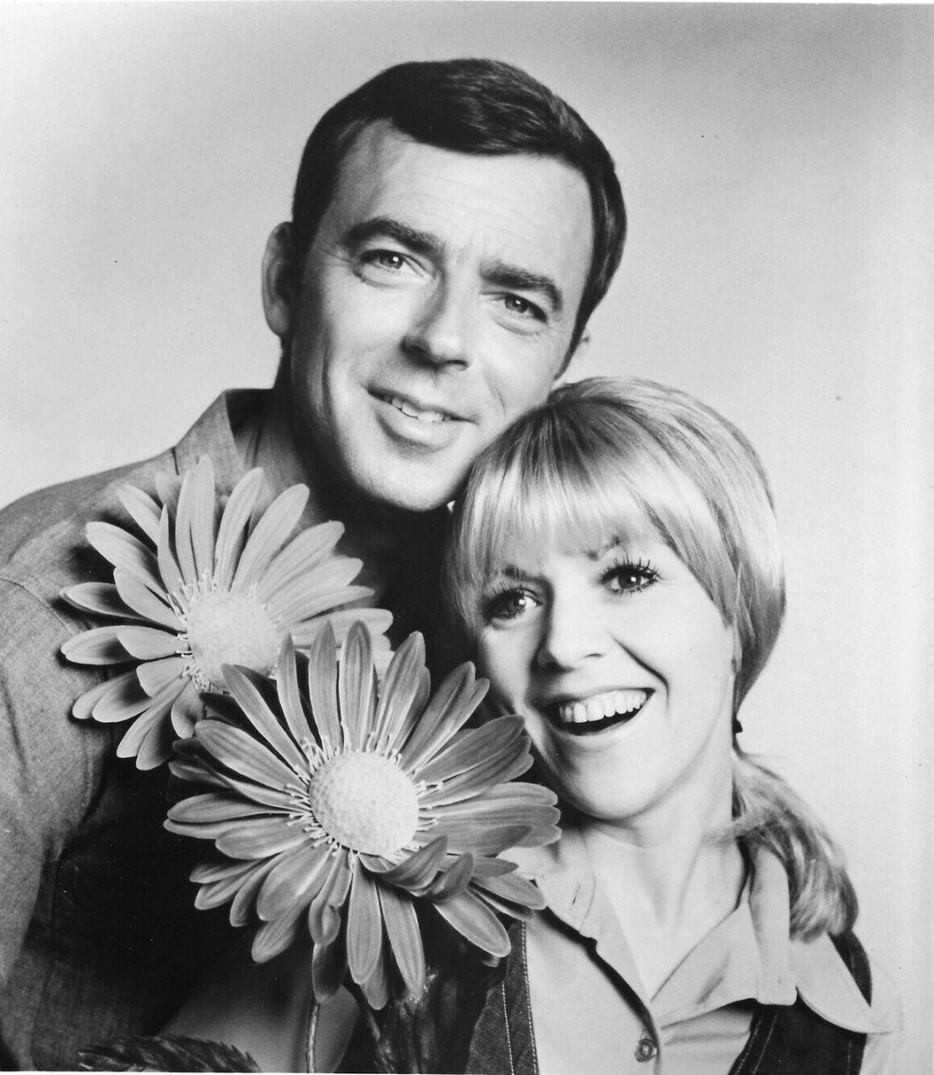Ken with his co star in Mayberry, RFD, Arlene-Golonka