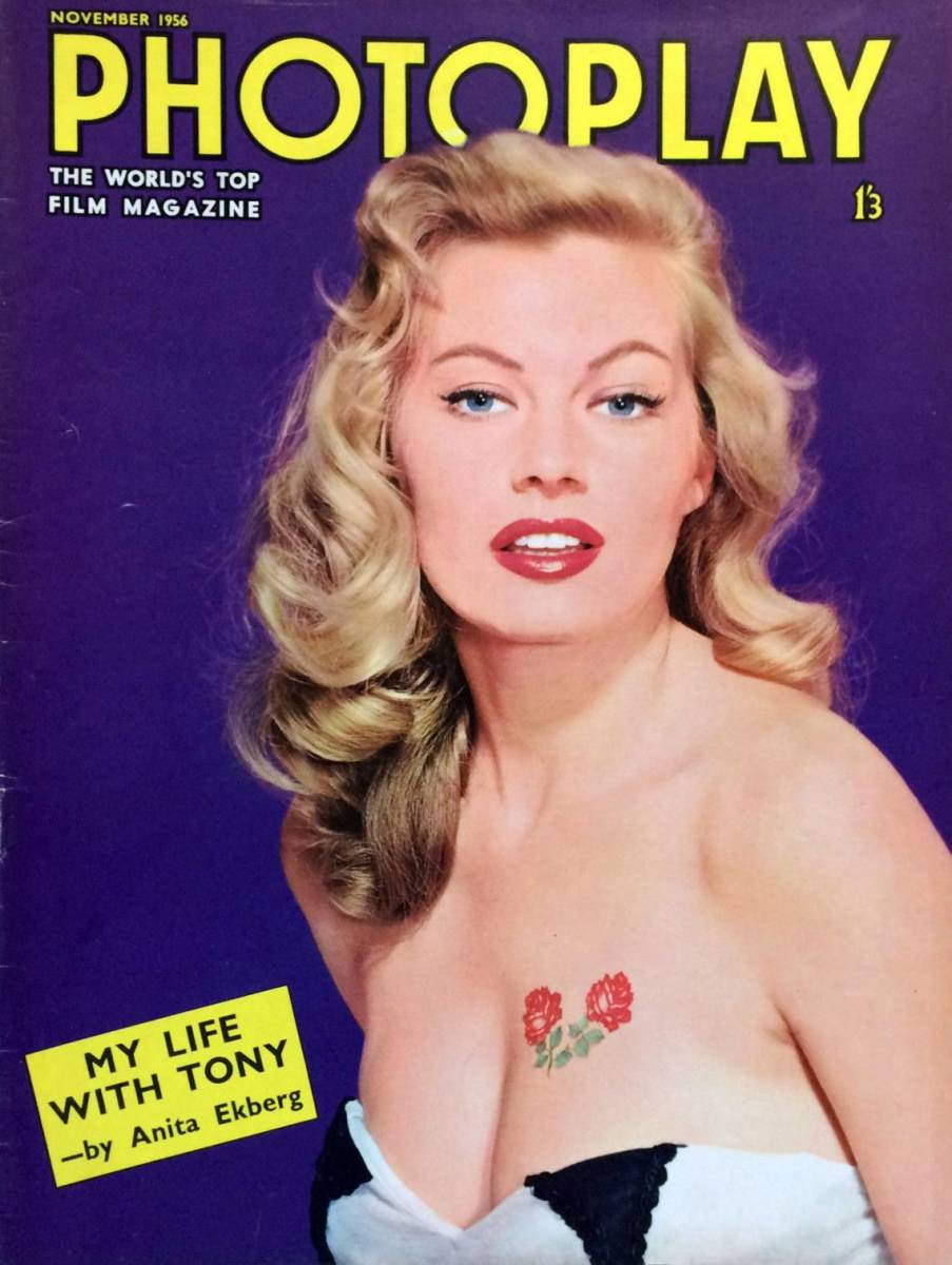 November 1956 Anita on the cover of Photoplay