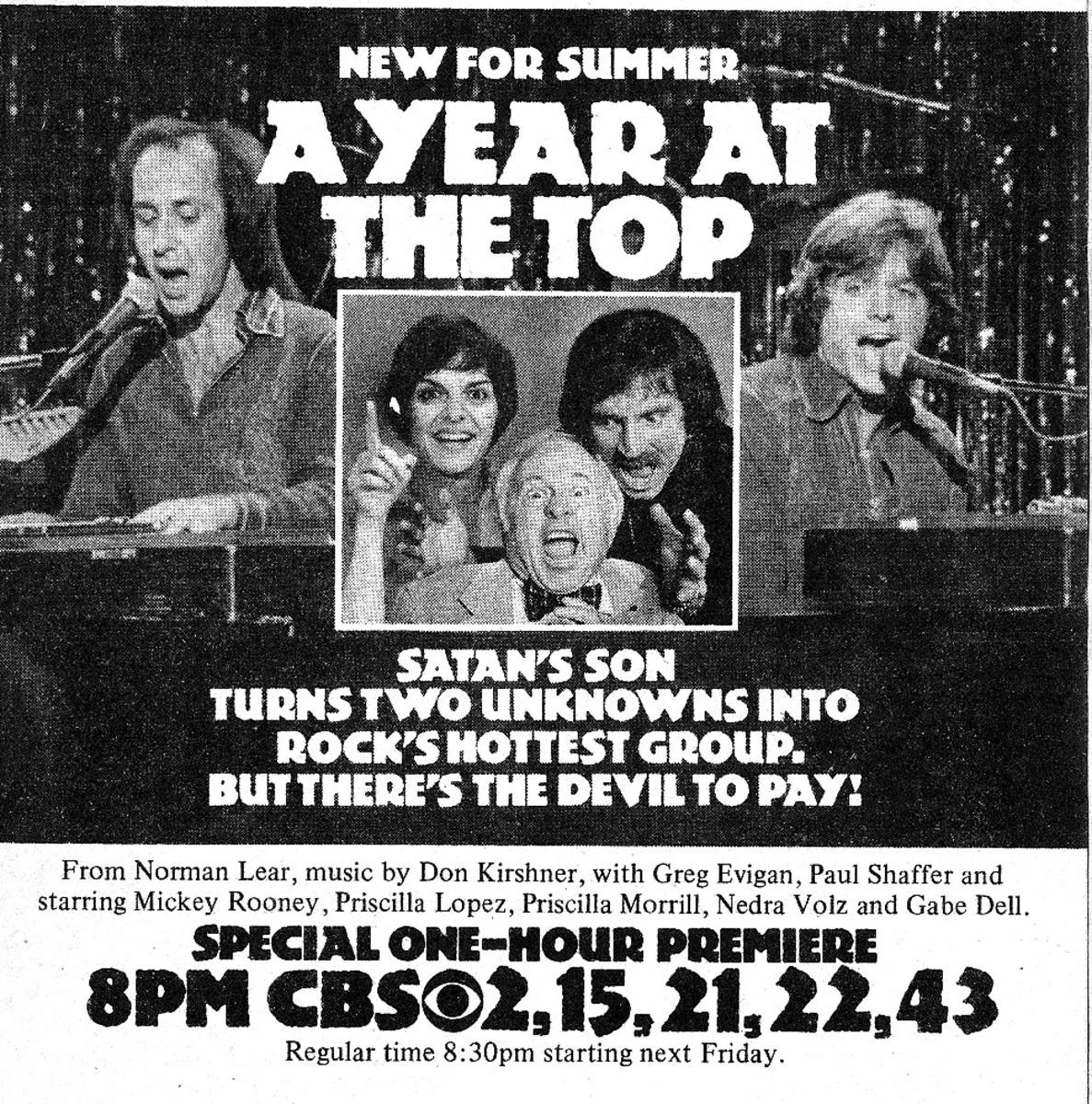 Vintage TV Guide ad 1977
