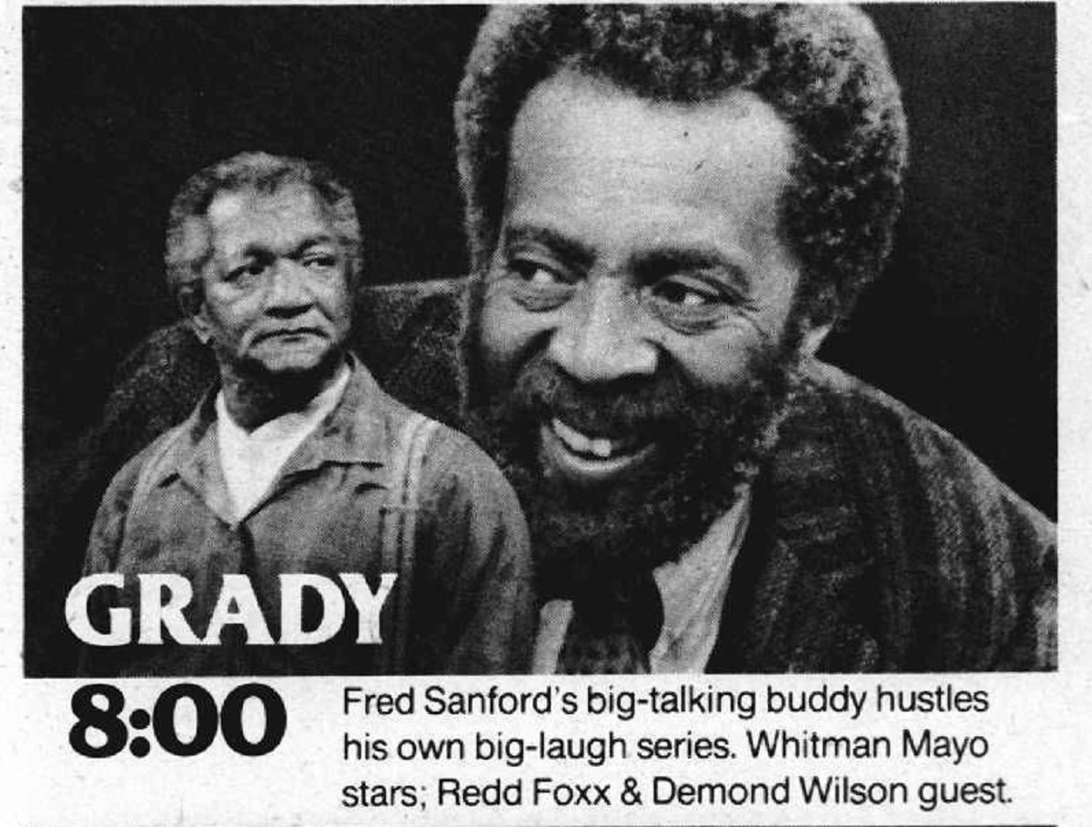 Vintage TV Guide Ad for Grady