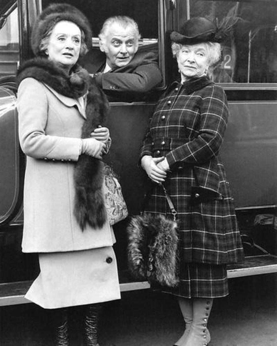 Mildred Natwick, Art Carney and Helen Hayes