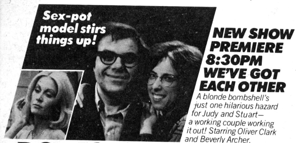 Vintage TV Guide Ad for the series We've Got Each Other