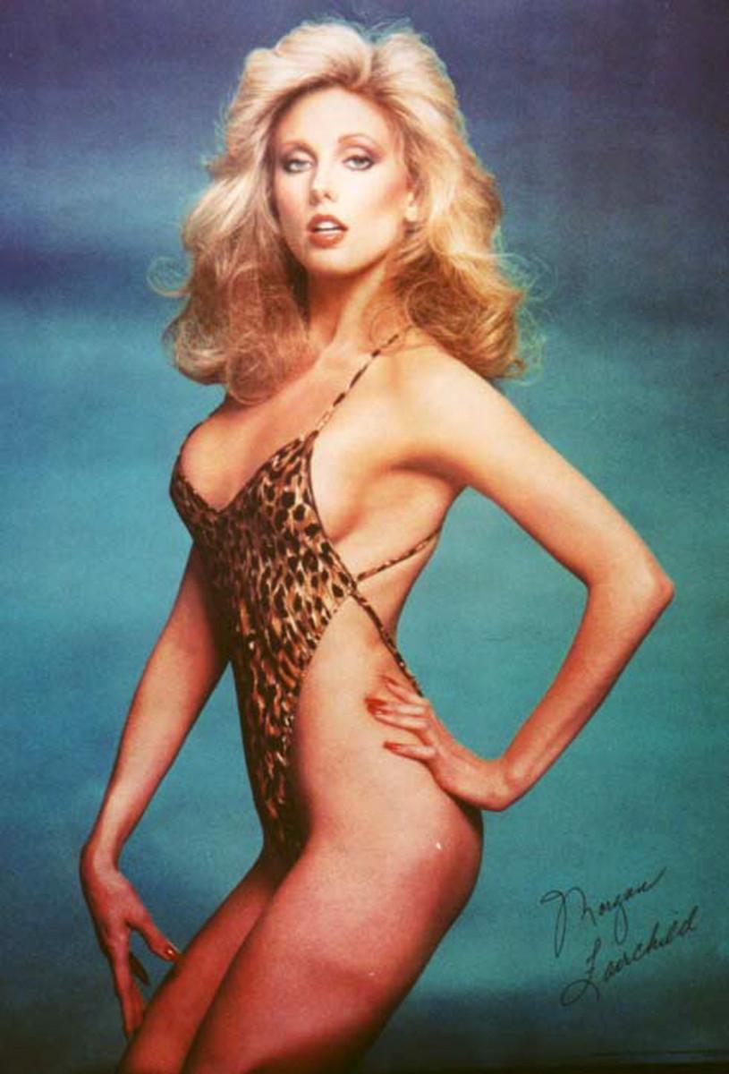 Morgan's lovely leopard skin print bikini pose