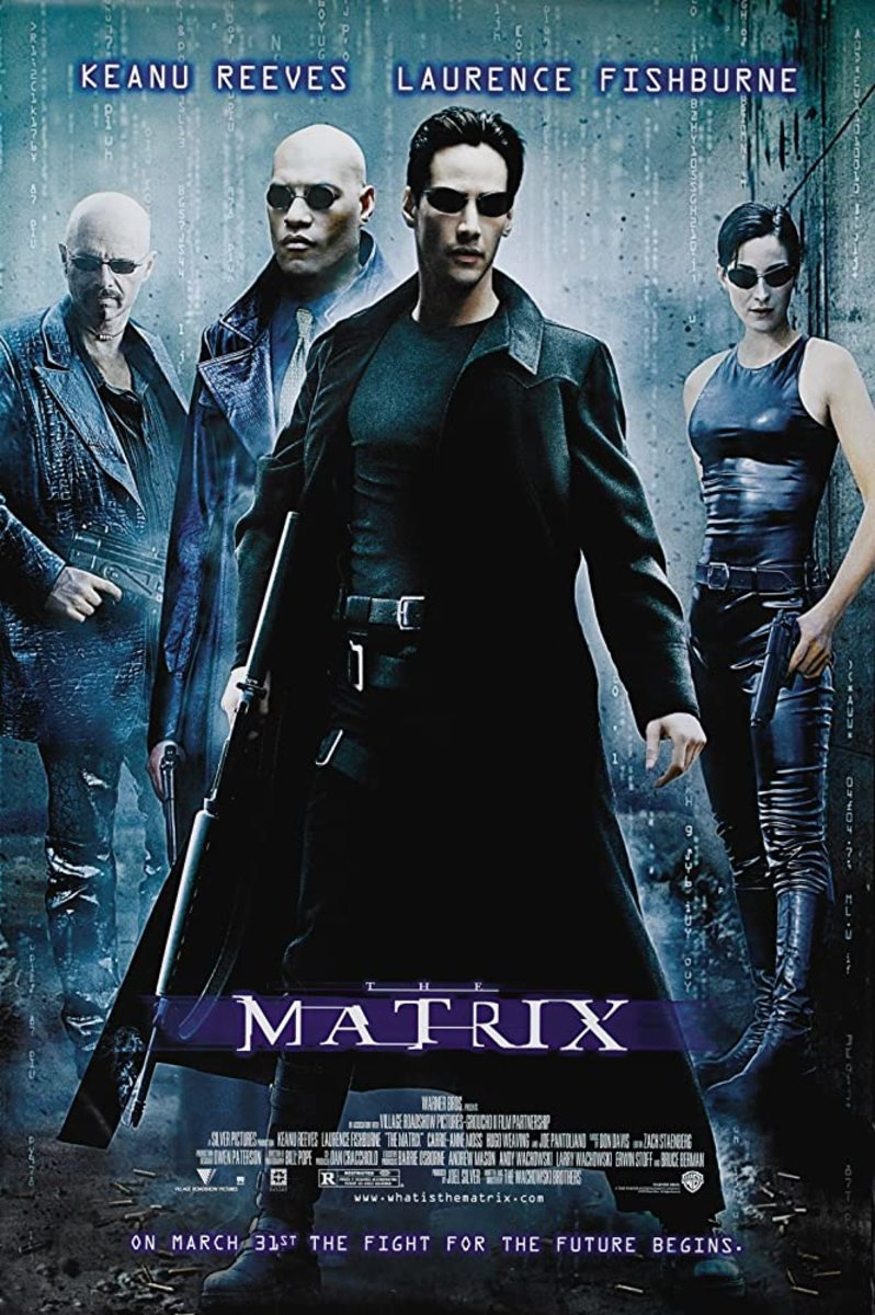 Everyone loves 'The Matrix', I know. I like it too... but just like. Not love. And I find the picture ever so slightly overrated... I'm sorry...