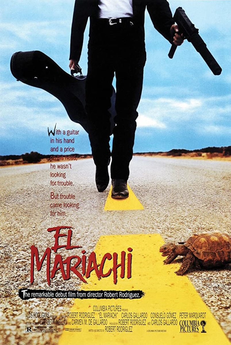 A great directorial debut by Robert Rodriguez... but he did better.