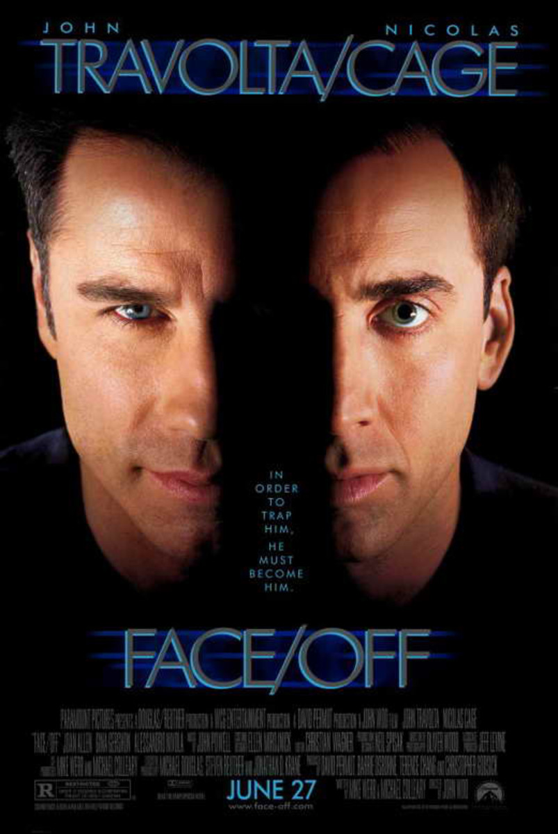Nic Cage is John Travolta and John Travolta is Nic Cage and it's one of the best things to ever enter a movie theater.