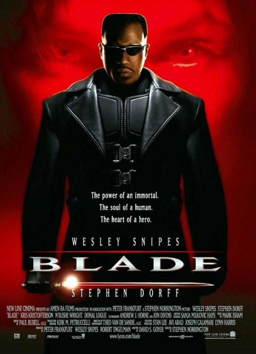 Cool. Stylish. Probably one of my favorite comic book flicks. Wesley Snipes is perfect as Blade I'd love more than anything to see him back in the role. Well, only if he truly cares to come back.
