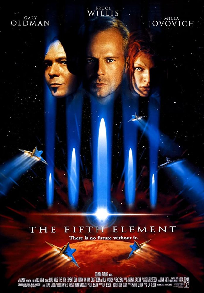 Luc Besson is a one of a kind man with an extraordinary imagination. 'The Fifth Element' is a great example of that imagination.