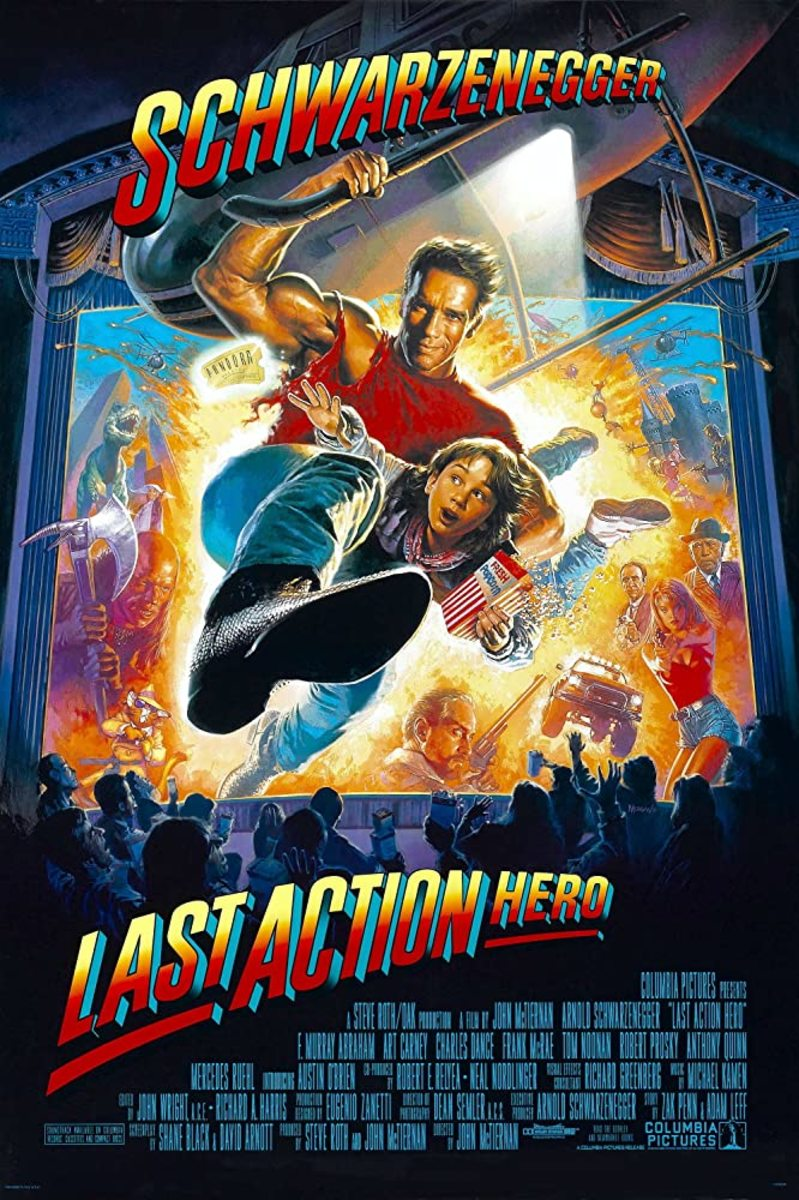 Another underrated '90s action flick in my opinion that pokes a lot of fun at the genre with fun satire and a good sense of humor. However, I had to commit to only one Arnie flick...