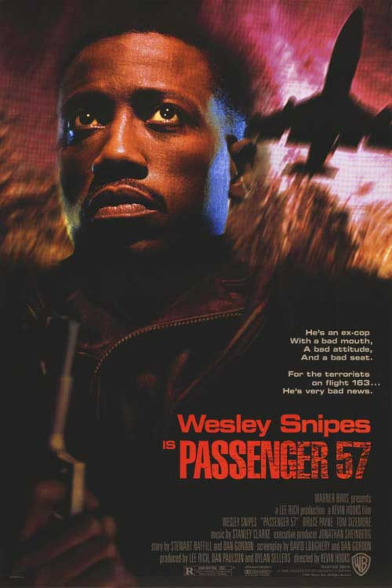 So close, I mean so close to making the list. Ultimately what it came down to was the fact that I needed to buckle down and only include one 'Die Hard' clone on the list. 'Passenger 57' didn't quite make it, but it's still a fun flick!