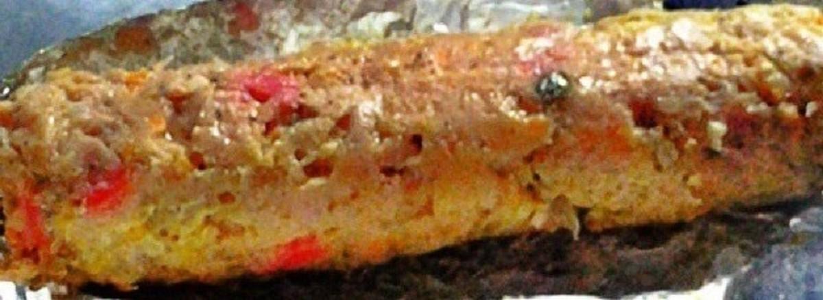 Filipino Chicken Embutido (Stuffed Chicken Meatloaf)