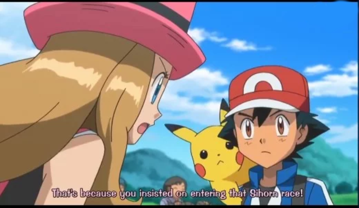 Serena is irritated...