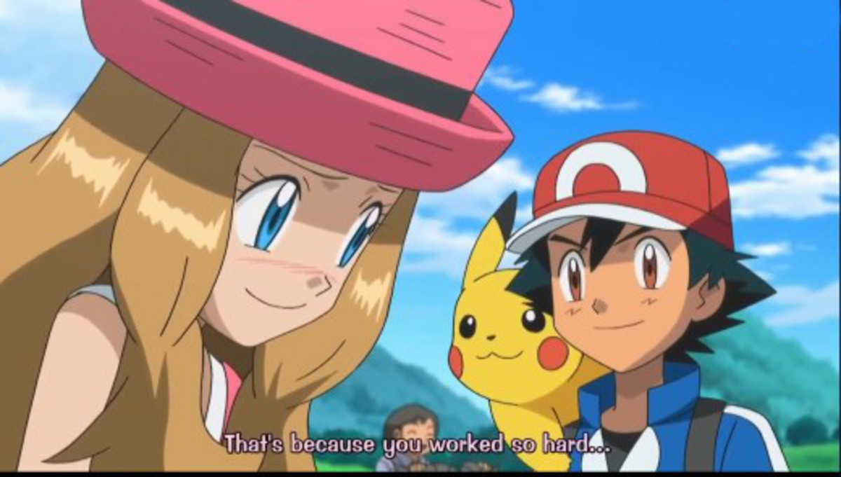 And Serena blushes.