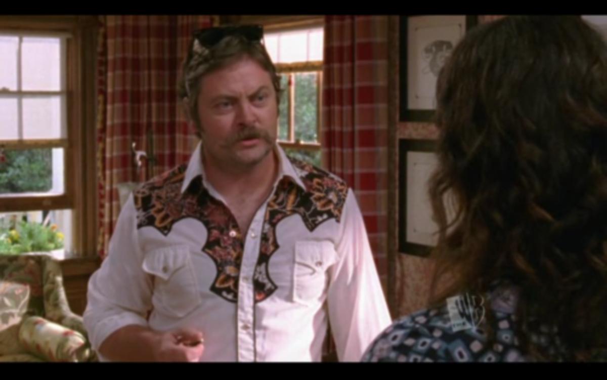Nick Offerman on Gilmore Girls.